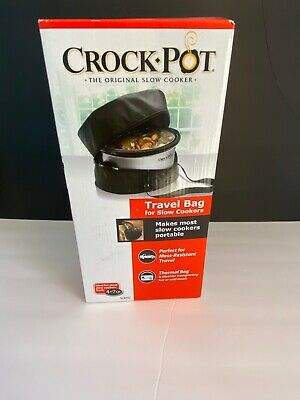 $ CDN12.53 • Buy Crock Pot 4-7 Qt. Travel Bag For Slow Cookers Thermal || *New In Box*