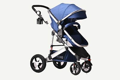 View Details 2 In1 Newborn Baby Pram Pushchair Travel System Buggy Stroller Without Car Seat • 110.99£