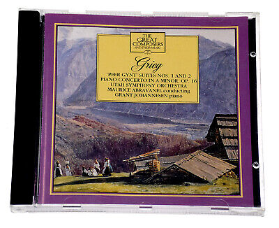 The Great Composers Grieg Rare Classical CD Album Complete VG Condition • 5.45£