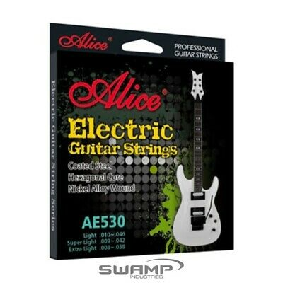 AU6.49 • Buy Alice Electric Guitar Strings - Extra Light