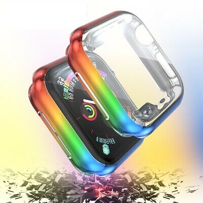 $ CDN10.16 • Buy Apple Watch Series 4/5 40/44mm Colorful IWatch 5 Full Body Cover Protective Case