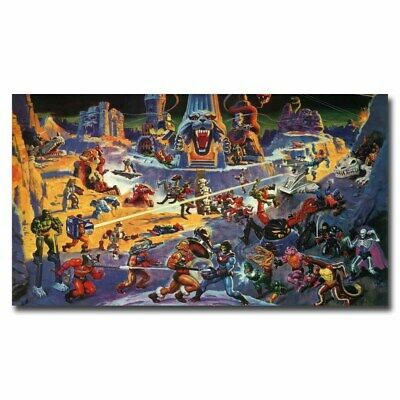 $8.99 • Buy He-Man And The Masters Of The Universe 20x36inch Movie Silk Poster Art Print