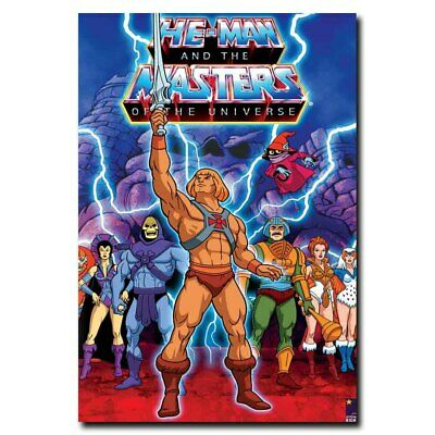$4.99 • Buy He-Man And The Masters Of The Universe 24x16inch Movie Silk Poster