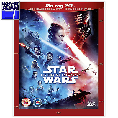 AU32.24 • Buy STAR WARS: THE RISE OF SKYWALKER Blu-ray 3D + 2D (REGION-FREE)