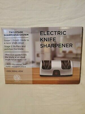 $19.99 • Buy Two Stage Electric Knife Sharpener