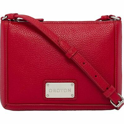 AU109 • Buy OROTON MYSTICAL LEATHER CROSSBODY HIP BAG In Red RRP$199