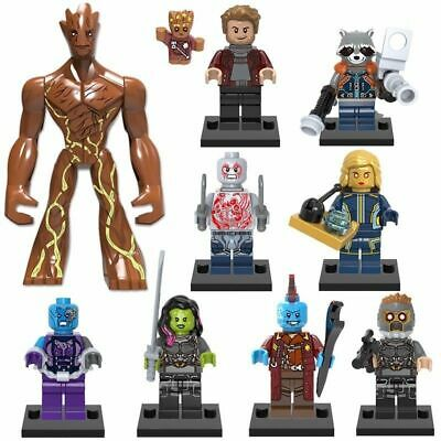 £20.99 • Buy 10 Mini Figures Fit Lego Marvel Guardians Of The Galaxy Minifigs 2020 Avengers