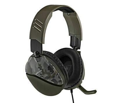£20.99 • Buy TURTLE BEACH Recon 70 Gaming Headset - Green Camo - Currys