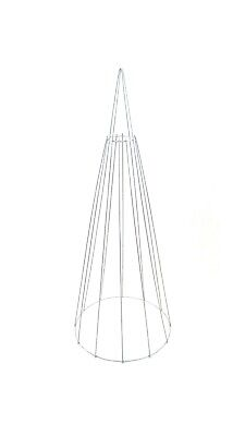 Topiary Frame Cone 100cm 40inch Metal Wire Frame Sculpture • 18.99£