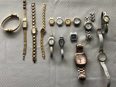 $ CDN24.99 • Buy Mixed Lot Of Quartz Watches, Vintage To Current Models, For Parts Or Resale