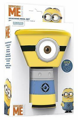 Children's Stacking Cup/Mug Bowl Plate Meal Dinner Set MINIONS Despicable Me • 5.95£
