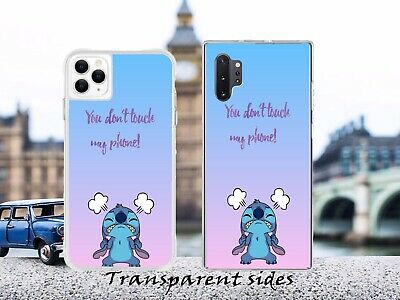 Lilo Stitch Don't Touch My Phone Phone Case • 5.99£