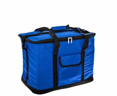 Extra Large Cooling Cooler Cool Bag Box Picnic Camping Food Ice Drink Blue 15l • 7.99£