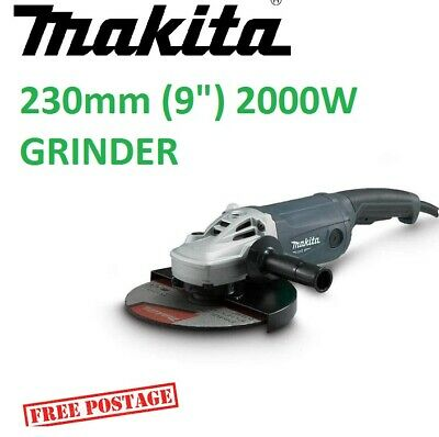 AU189.95 • Buy Makita 9  Angle Grinder 230mm 9 Inch Powerful 2000W Cord M9001G Trigger Switch