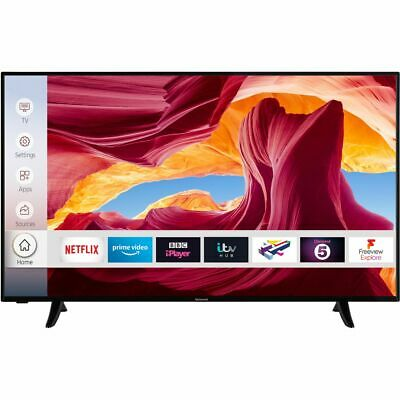 View Details Techwood 55AO9UHD 55 Inch TV Smart 4K Ultra HD LED Freeview HD 3 HDMI Dolby • 329.00£
