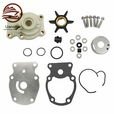 $26.49 • Buy For Johnson Evinrude Outboard Water Pump Impeller Kit 20 25 30 35 Hp 393630 F9F5