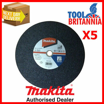 Makita Metal Cutting Disc 355mm 14  Pack Of 5 ( = Only £5.59) • 27.95£
