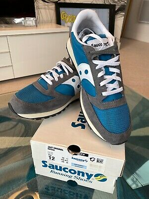 New Saucony Jazz Original Vintage Teal Size Uk 11 • 39.99£