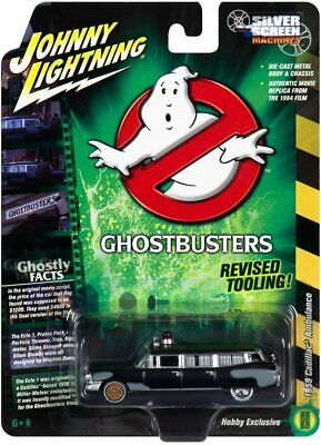 Johnny Lightning Ghostbusters Pre Ecto 59 Cadillac Ambulance 1/64 Scale Diecast • 12.49£