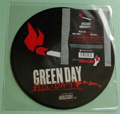 Green Day - Holiday / Minority - 2005 UK Picture Disc 7  Single • 18£