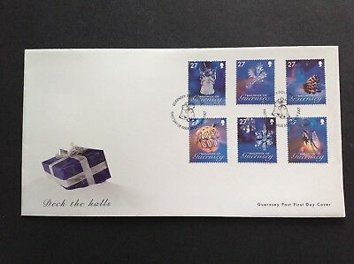 Excellent Guernsey 2007 First Day Cover Deck The Halls (1) • 2.15£
