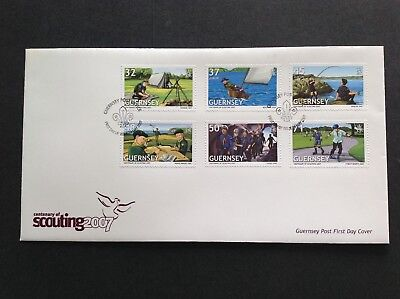 Excellent Guernsey 2007 First Day Cover Centenary Of Scouting • 2.15£