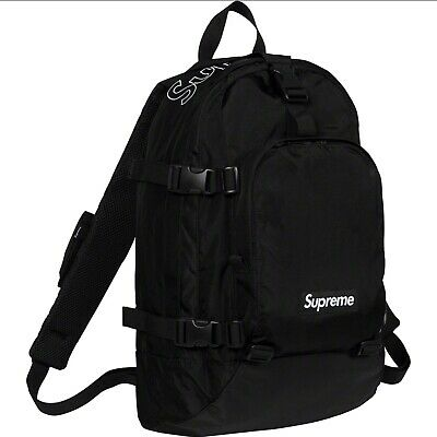 $ CDN300 • Buy FW19 Authentic Supreme Black Backpack New In Bag
