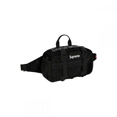 $ CDN200 • Buy Supreme Waist Bag Fanny Pack FW19 Black, Brand New In Bag Authentic