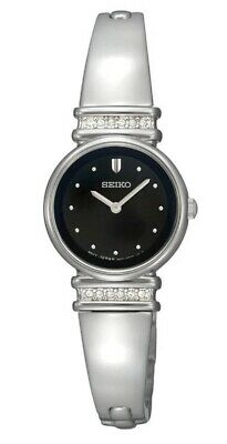 $ CDN141.75 • Buy Seiko Women's Black Dial Stainless Steel Watch SUJG31