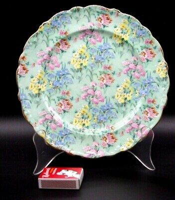 1940-66 Shelley Chintz Melody N13453 22.5 Cm Small Dinner Plate Top Condition.  • 53.54£