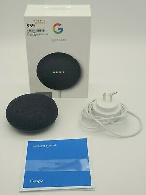 AU59 • Buy Google Nest Mini (2nd Generation) Smart Speaker - Charcoal  -cgl3030