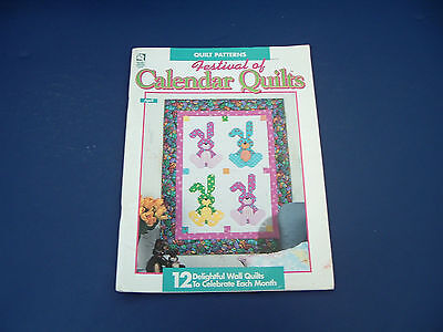 $8.25 • Buy Quilt Patterns Festival Of Calendar Quilts 12 Wall Quilt For Each Month