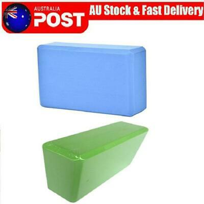 AU16.53 • Buy Yoga Block Brick Foaming Home Exercise Practice Fitness Gym Sport Tool Blocks