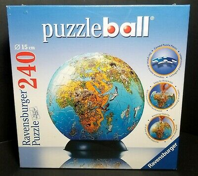 $32.50 • Buy 3-D World Globe Puzzle Ball  240 Pieces. By: Ravensburger Age 10+ New In Box!