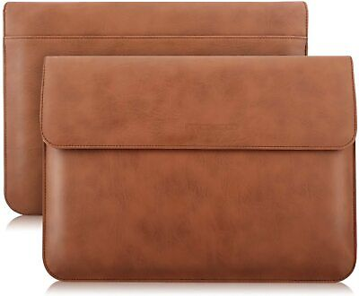 £29.99 • Buy Leather Envelope For Apple IPad Pro 12.9  2021 Sleeve Case Cover Document Pocket