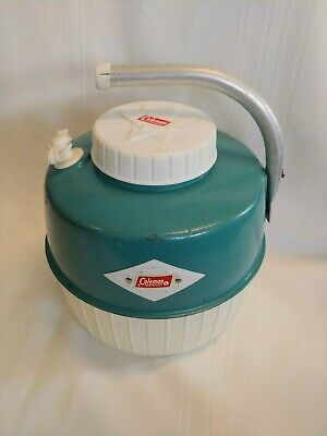 $29.95 • Buy Vintage Coleman Water Jug Cooler Turquoise With Cup
