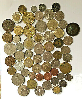 Job Lot Of Unsorted Foreign Coins All Proceeds To Charity • 12.99£