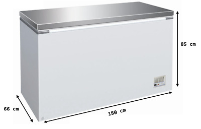 £636 • Buy EASYCOLD 180cm STAINLESS STEEL LID CATERING COMMERCIAL CHEST FREEZER 5.9 Ft