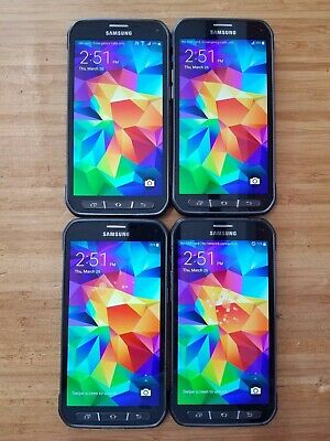 $ CDN350 • Buy Lot Of 4 - Samsung Galaxy S5 Active - SM-G870 -16GB - Black - UNLOCKED(item#130)