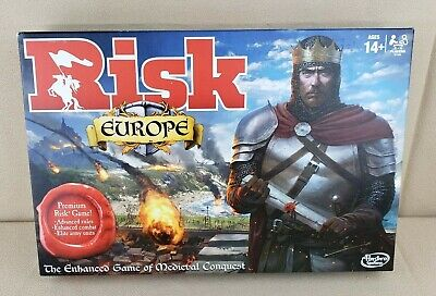 $39.99 • Buy Hasbro Risk: Europe Board Game - Box Distressed - NEW / SEALED - READ