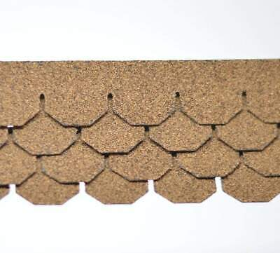 $18.15 • Buy 1:12 Dollhouse Miniature Shingles, Tan Hex Asphalt Roof AM 4009H