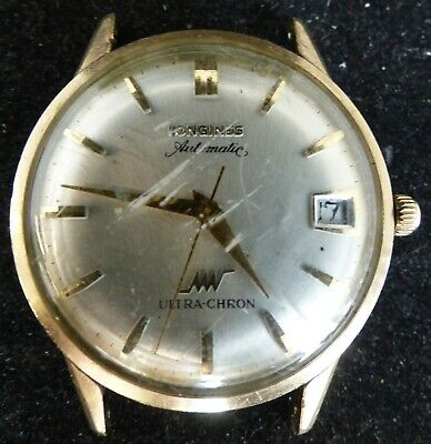 $ CDN427.12 • Buy Vintage Longines Ultra-chron Gold Filled Automatic Men's Watch