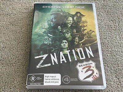 AU11.99 • Buy Z Nation : Season 3 (DVD, 2017, 4-Disc Set)