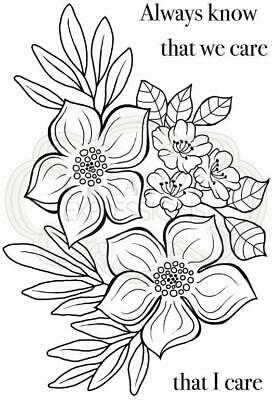 Woodware Blooming Lovely Clear Stamp Set By Jane Gill JGS707 • 6£