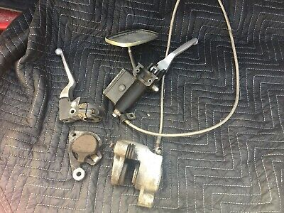 $79 • Buy Harley Davidson Sportster Front Master Cylinder Caliper And Hand Levers