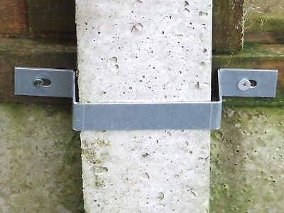 £1.99 • Buy Fence Panel Anti Theft Bracket Stop Thieves Stealing Fence Panels Concrete Post