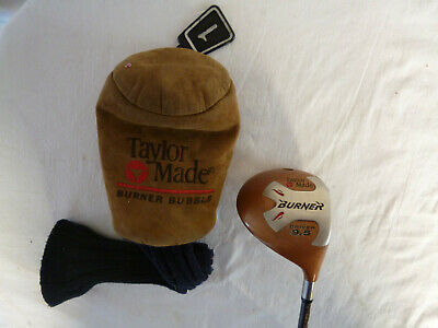 TAYLOR MADE BURNER SUPERSTEEL  10.5 R80 PLUS  BUBBLE SHAFT + Headcover • 24.99£