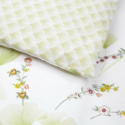 Yves Delorme | Ginkgo Duvet Cover 100% Cotton Percale 200tc 40*% Off Rrp • 161.46£