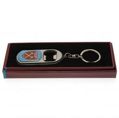 Official WEST HAM UNITED FC Bottle Opener Keyring  With Torch Hammers Gift • 7.99£
