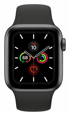 $ CDN589.09 • Buy Apple Watch Series 5 40mm Space Gray Aluminium Case With Black Sport Band - S/M